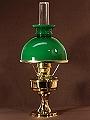 Aladdinlampen: Grüner Schirm
