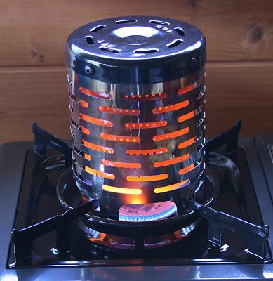 zeltheizung gas kocher