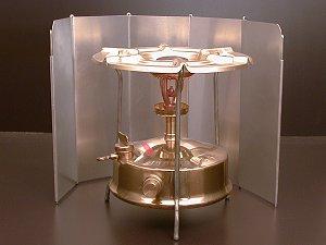 Windschutz für Kocher - Art.(5306) - Petroleumkocher, Spirituskocher