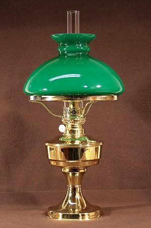 detailseite petroleumlampe mit gr nem vestaschirm kosmosbrenner 14 linig. Black Bedroom Furniture Sets. Home Design Ideas